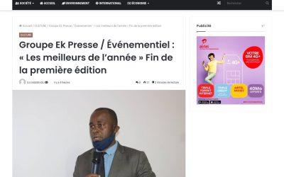 La une média Gabon